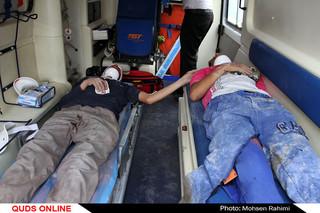 انفجار منزل مسکونی با دو مجروح در مشهد