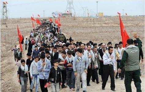 240 نفر از دانش آموزان مانه و سملقانی به اردوی راهیان نور اعزام شدند