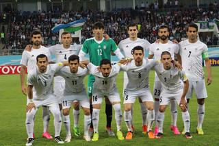 دیدار تیم ملی فوتبال ایران و ازبکستان