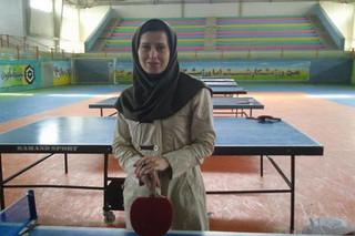 فاطمه کیوانی سرمربی تیم ملی تنیس روی میز بانوان