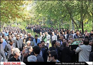 مراسم تشییع پیکر پیشکسوت تئاتر خراسان در مشهد/عکس خبری