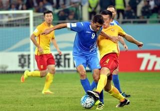 دیدار تیم ملی فوتبال ازبکستان و چین