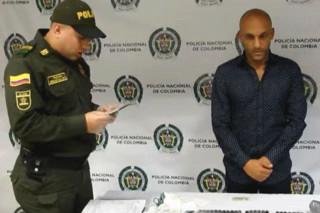 دستگیری ملی پوش کلمبیا بخاطر قاچاق کوکائین