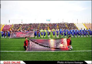 بازی فوتبال سیاه جامگان با استقلال تهران از هفته هشتم لیگ برتر