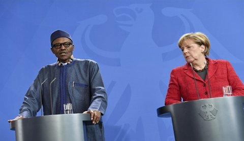 مرکل رئیس جمهور نیجریه