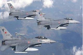 جنگنده های ترکیه