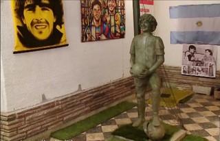 خانۀ اسطورۀ فوتبال آرژانتین و جهان موزه شد