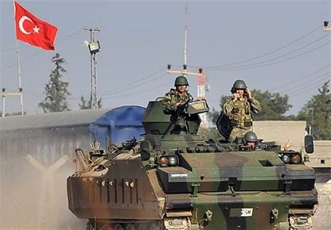 حضور نظامی ترکیه