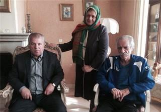 علی پروین و منصور پورحیدری