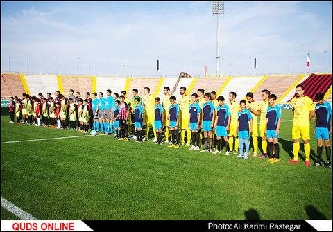 بازی فوتبال سیاه جامگان و نفت تهران از هفته دهم لیگ برتر