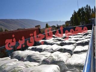 محموله برنج قاچاق