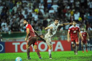 دیدار تیم های ملی فوتبال ایران و سوریه