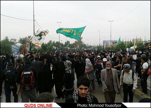 عکسهای موبایلی خبرنگار قدس آنلاین از حضور زائران اربعین حسینی در کربلا و نجف