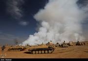 دفع حمله داعش به جنوب موصل و هلاکت ۴۰ داعشی