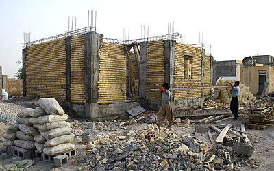 ساخت و تعمیر مسکن مددجویان
