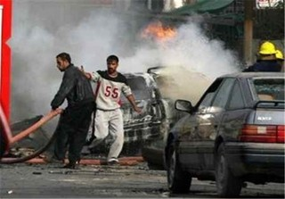 انفجار در شرق استان الحله عراق