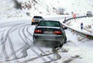 بارش برف، ترافیک