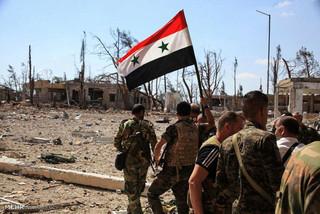 پیشروی ارتش سوریه