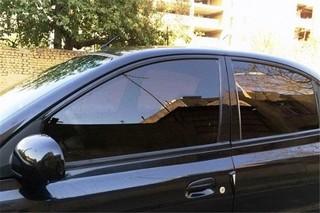 خودروهای دارای شیشه دودی