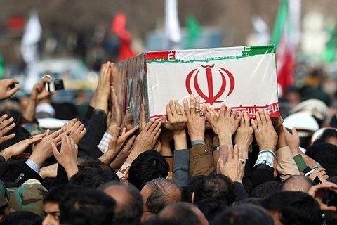 پیکر ۷شهید حادثه تروریستی حله فردا در اهواز تشییع می شود