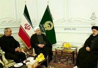 رئیس جمهور با تولیت آستان قدس رضوی