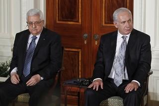 دیدار محمود عباس و نتانیاهو