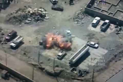 بمباران داعش