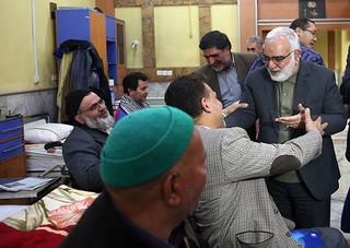 دیدار قائم مقام تولیت آستان قدس رضوی در جمع جانبازان