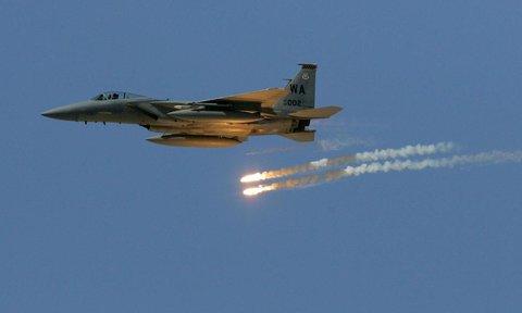 جنگنده آمریکا - موشک