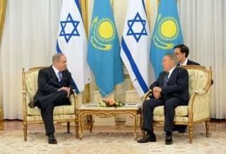 نتانیاهو در قرقیزستان