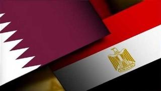 پرچم مصر و قطر