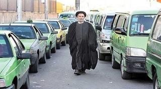 روحانی راننده تاکسی
