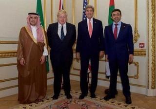 اجلاس کشورهای عربی با آمریکا وانگلیس