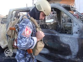 انفجار خودرو بمبگذاری