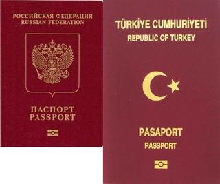 پاسپورت روسیه ترکیه
