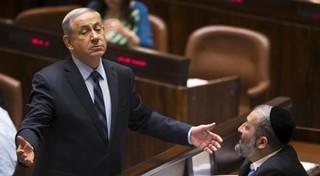 نتانیاهو در کنست