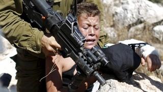 کودکان فلسطین سرباز اسرائیلی صهیونیستی