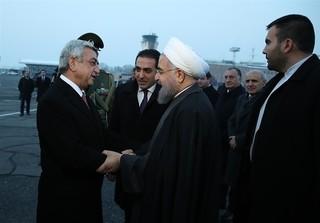 روحانی در ارمنستان