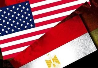 پرچم مصر و آمریکا