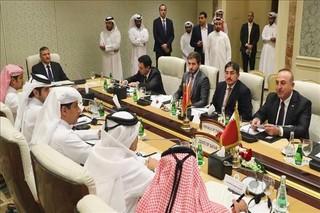 وزرای خارجه ترکیه و قطر
