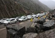 محور چالوس-کرج با محدودیت ترافیکی روبروست