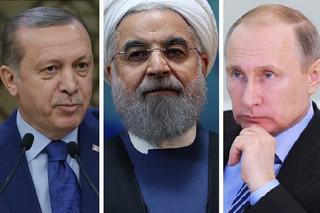 روحانی پوتین اردوغان