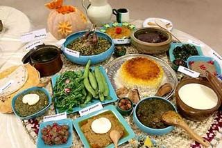 سفره ایرانی، فرهنگ گردشگری