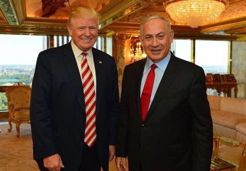 ترامپ نتانیاهو