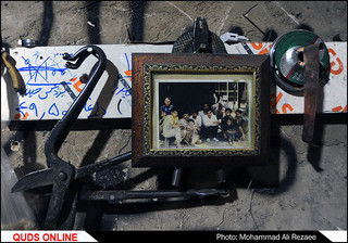 کارگاه های مسگری در مشهد