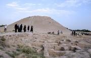 تپه ۹۵۰۰ ساله ازبکی با انبوه مشتاقان و گردشگران روبرو شد