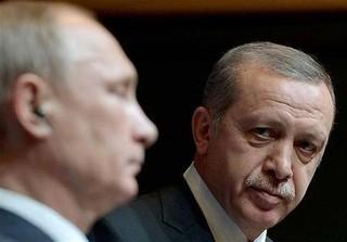 رجب طیب اردوغان پوتین