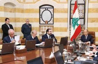 میشل عون حکومت لبنان