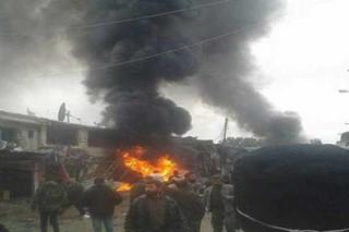 انفجار خودرو بمبگذاری شده