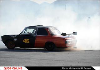 مسابقه اتومبیلرانی دریفت قهرمانی استان/گزارش تصویری